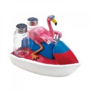 Flamingo Jet Skiing Shakers SKU: 10018237